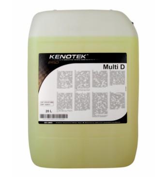 Tekstilizstrādājumu apdares, ādas un paklāju tīrītājs Multi D 20 l