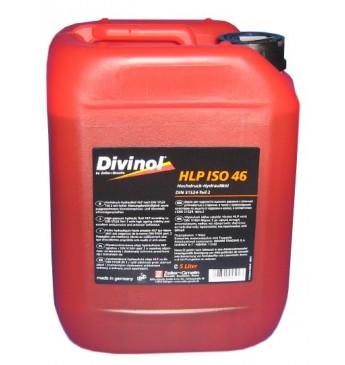 DIVINOL HLP 46 Augstspiediena hidrauliskā eļļa ar pied., 5L
