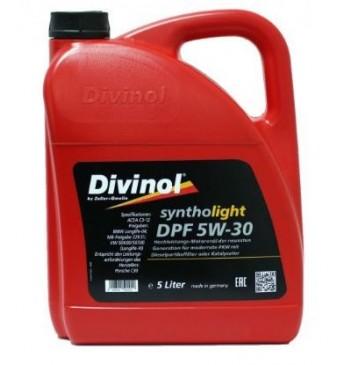 Syntholight DIVINOL DPF 5W-30 5 l., BMW04, MB229.51; VW504.00/507.01