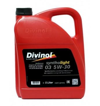 DIVINOL Syntholight 03 5W30 Sintētiskā eļļa, 5L