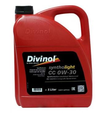 Syntholight CC 0W-30  5L API SL; ACEA A5-10/B5-12