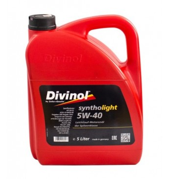 Syntholight DIVINOL 5W40 5 l SN/CF, MB 229.3, VW 505.00, GM-LL-B-026