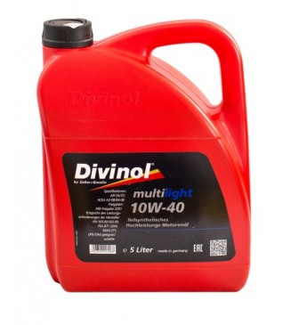 Multilight DIVINOL 10W40 5 l SN/CF, MB229.1, VW 505.00/502.01