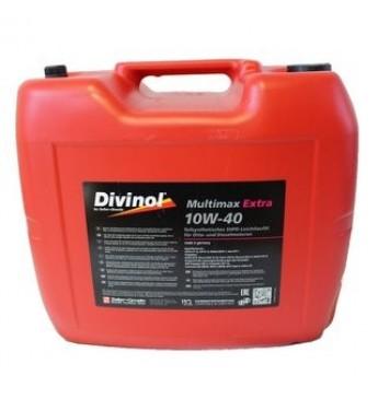 DIVINOL Multimax Extra SAE 10W40 Pussintētiska motoreļļa, 20L