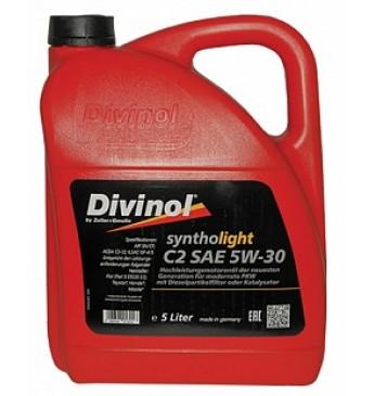 DIVINOL Syntholight C2 5W30 Hidrokrekinga motoreļļa SN/CF, 5L
