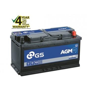 Akum.vieglo GS YUASA 95Ah 12V 850A AGM019