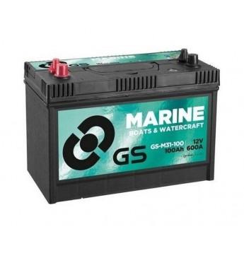 #Akum.atpūtai GS 100Ah Marine 12V 600A M31-100