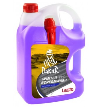 Winter screen wash DAKAR -21°C, 4 l