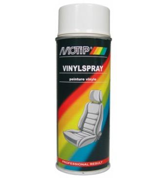 MOTIP krāsa vinila un ādas izstrādājumiem, aerosols, balts, 400ml