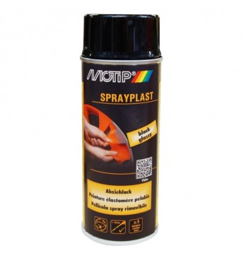 Spray Plast SET Black Glossy