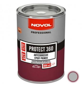 PROTECT360 Epoksīdu grunts 1+1 pelēka 800ml