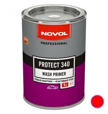 PROTECT340 Aktīvās/skābās grunts 1+1 sarkans 1L