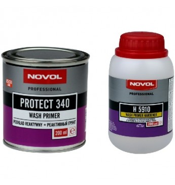 PROTECT340 Aktīvās/skābās grunts kpl. 0.2+0.2L