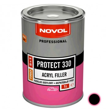 PROTECT330 HS grunts 5+1 melna 1L