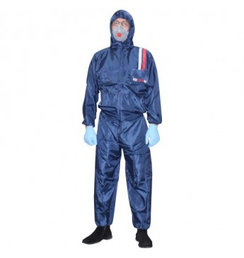 Polyester overall BLUE M