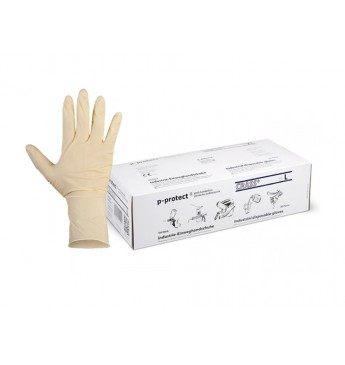 CRAFT Latex disposable gloves L (100 pcs)