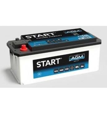 START 170 Ah AGM 12V 1100A akumuliatorius 513x223x223