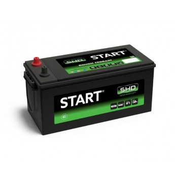 Start SHD 180Ah 12V 1100A akumuliatorius 513x223x223