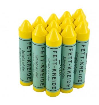 Krīts marķēšanai SISA ,dzeltens (12gab)