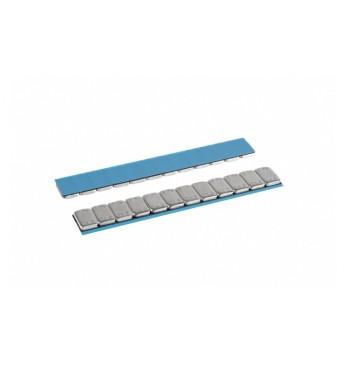 Adhesive weights ALU SLIM 12x5g, 100 pcs