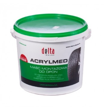 Mounting paste DELTA ACRYLMED, green, 4kg