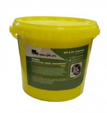 Mounting paste ECORA, yellow 5kg