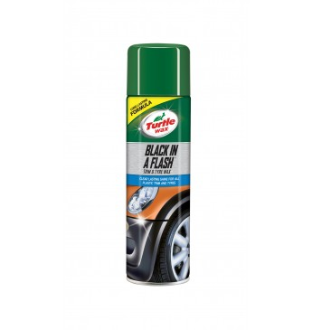 BLACK IN A FLASH AEROSOL Turtle Wax 500ML