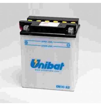 UNIBAT 12V 14Ah Moto akumulators