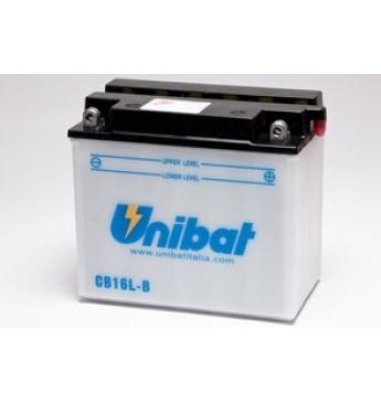 Moto Akumulators Unibat 12V, 19Ah