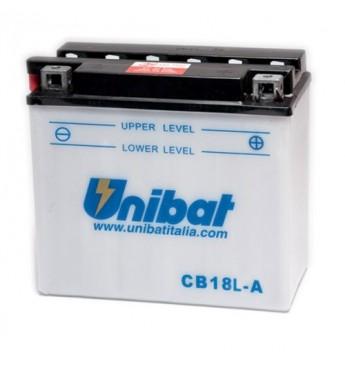 Moto Akumulators Unibat 12V, 18AH