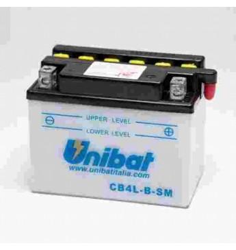 Akumulators Unibat 12V, 4AH SM