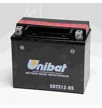 Moto Akumulators Unibat 12V 10AH M