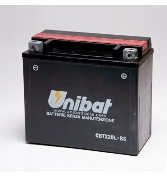 Akumulators Unibat 12V 18AH -+ 270A 175x87x155mm