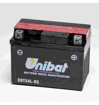 Akumulators Unibat 12V, 3Ah, MF
