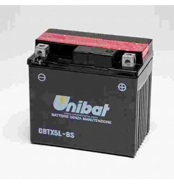 Akumulators Unibat 12V 4AH -+ 70A 114x71x106mm