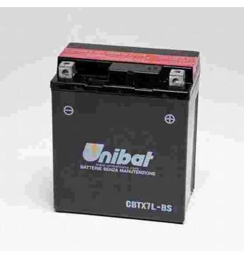 UNIBAT 12V 6Ah Moto akumulators, 85A, K
