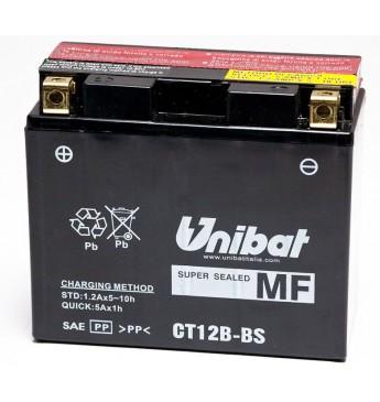 UNIBAT 12V 11Ah Moto akumulators, 180A, L