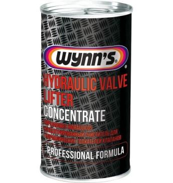 WYNN'S PRO eļļas piedeva vārstu kompensatoru tīrīšanai, 325ml