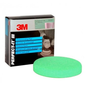 Perfect-it III compounding pad green 150 mm